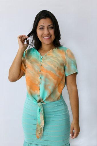 Blusa Tie Dye em Áquila Tauheny Store | Moda Evangélica