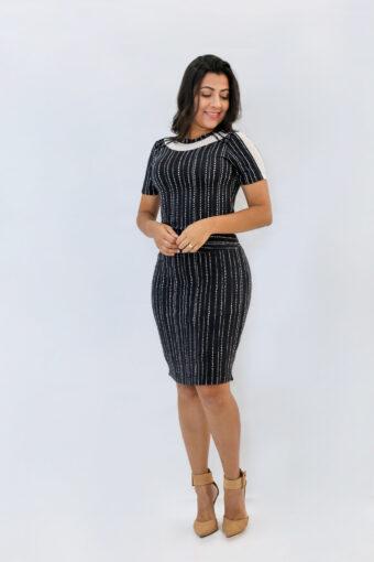 Vestido Malha Jany Pim em Áquila Tauheny Store | Moda Evangélica