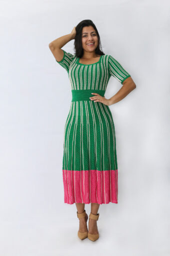 Vestido Midi Tricot em Áquila Tauheny Store | Moda Evangélica
