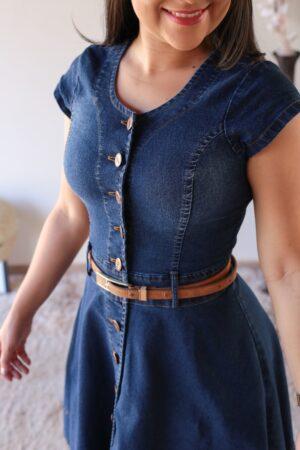 Vestido Jeans Godê