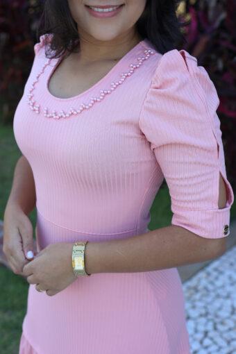 Vestido Longo Maria Amore em Áquila Tauheny Store | Moda Evangélica