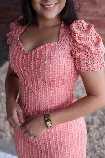 Vestido Peplum Maria Amore em Áquila Tauheny Store | Moda Evangélica