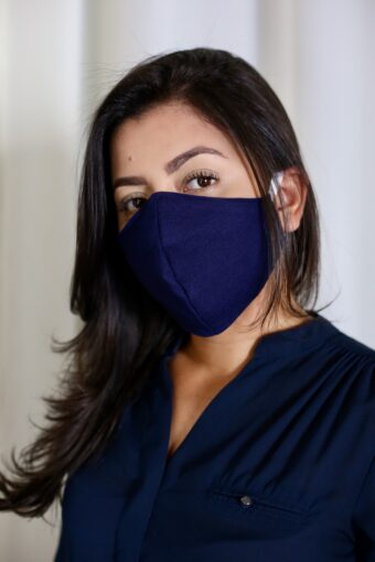 Máscara Azul | Áquila Tauheny Store | Roupas Evangélicas