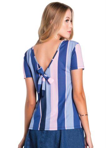 Blusa Listrada em Áquila Tauheny Store | Moda Evangélica