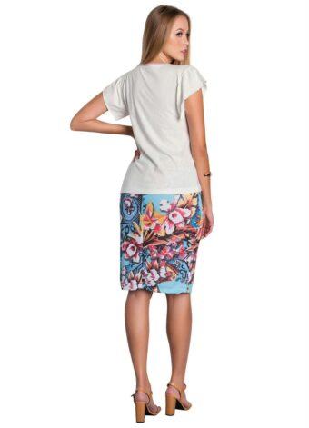 Blusa Off White Estampada em Áquila Tauheny Store | Moda Evangélica
