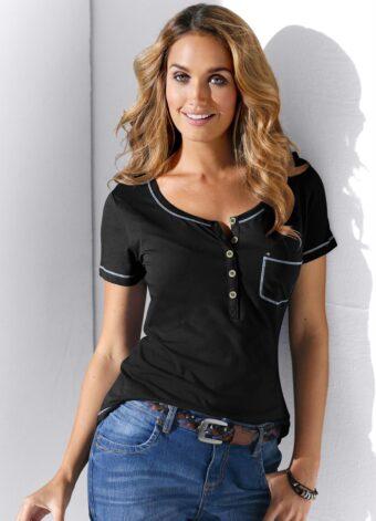 Blusa Preta com Bolso em Áquila Tauheny Store | Moda Evangélica
