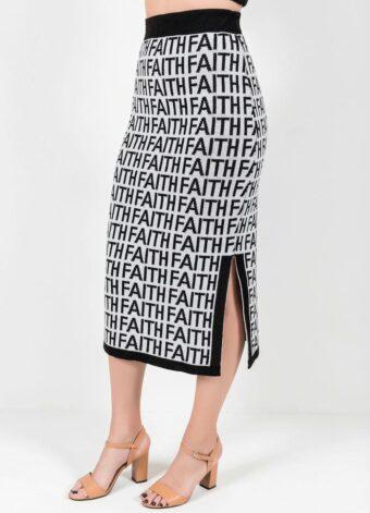Saia Letering Faith em Áquila Tauheny Store | Moda Evangélica