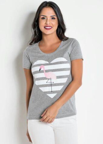 T-shirt Estampada em Áquila Tauheny Store | Moda Evangélica