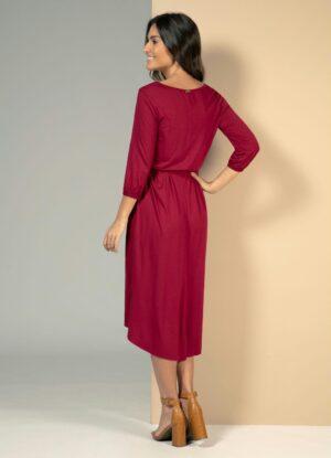 Vestido Mullet Vermelho