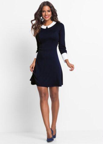 Vestido Retrô Azul em Áquila Tauheny Store | Moda Evangélica