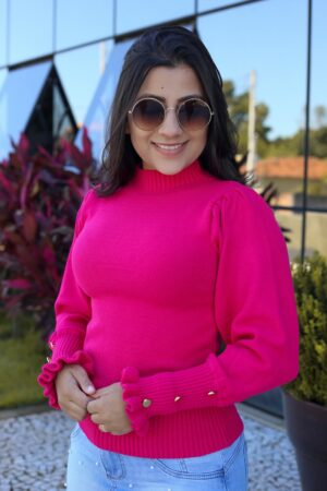 Blusa Tricot Pink