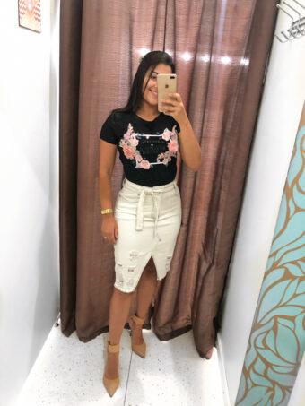 T-shirt Preta em Áquila Tauheny Store | Moda Evangélica