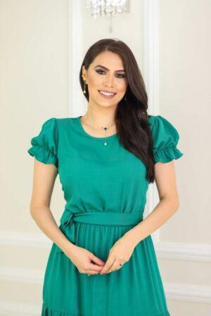 Vestido Midi Pérola Verde