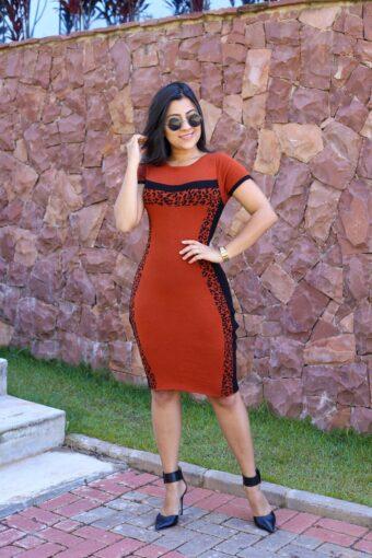 Vestido Tricot Terra em Áquila Tauheny Store | Moda Evangélica