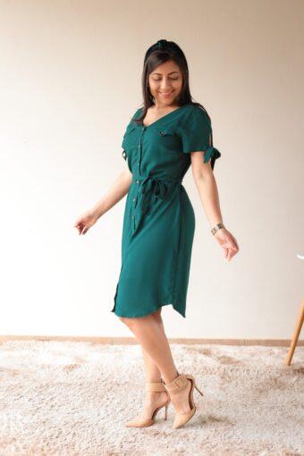 Chemise Verde em Áquila Tauheny Store | Moda Evangélica