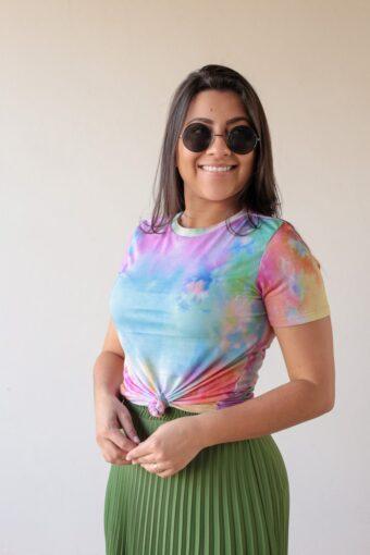 T-shirt Tie Dye em Áquila Tauheny Store | Moda Evangélica