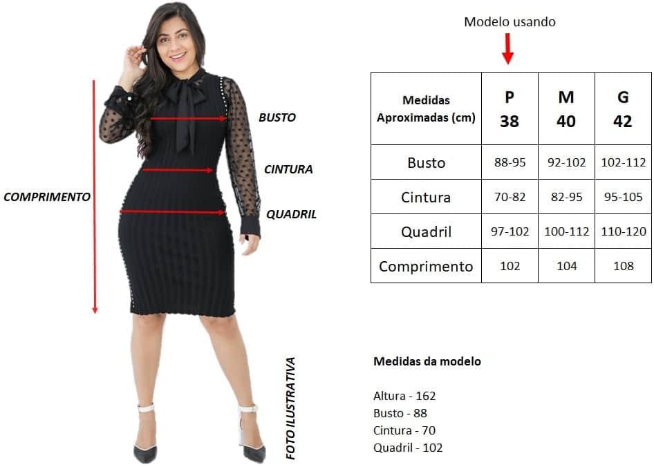Tabela de Medidas | Áquila Tauheny Store