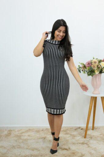 Vestido Tubinho Tricot em Áquila Tauheny Store | Moda Evangélica