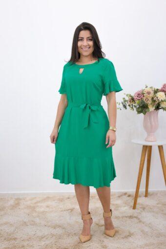 Chemise Viscose Verde em Áquila Tauheny Store | Moda Evangélica