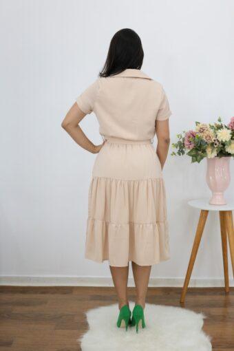 Vestido Midi Maria | Moda Evangélica
