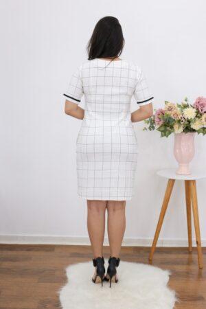 Vestido Xadrez White