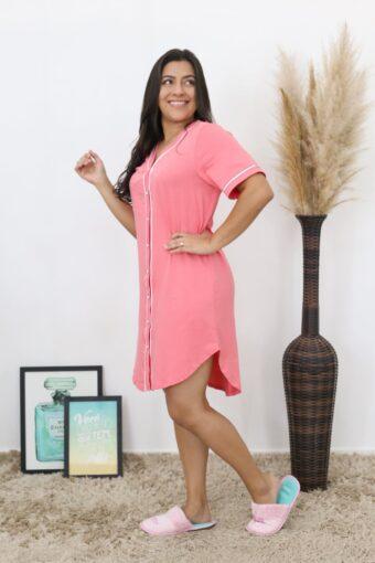 Camisola Rosa Delicada | Pijamas | Áquila Tauheny Store | Moda Evangélica