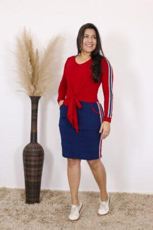 Vestido de Malha Dhamaris