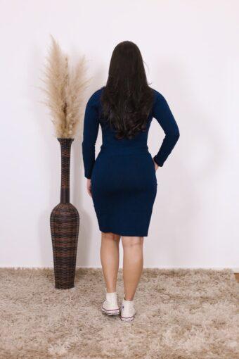 Vestido de Malha Luiza | Moda Evangélica