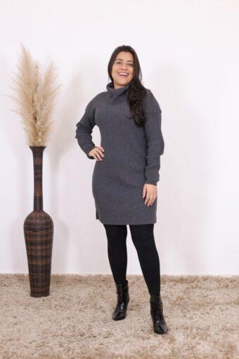 Vestido de Tricot Anne | Moda Evangélica