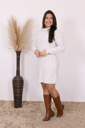 Vestido de Tricot Carolina | Moda Evangélica