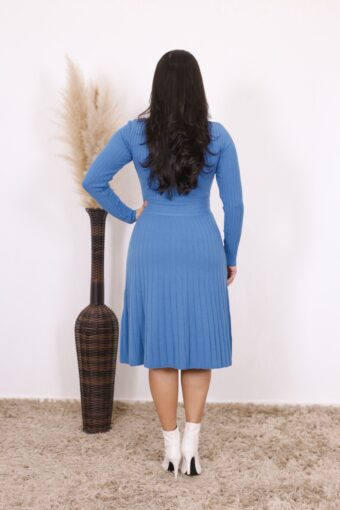 Vestido de Tricot Luessa | Moda Evangélica