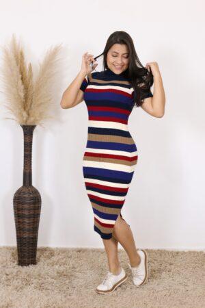 Vestido de Tricot Poliana