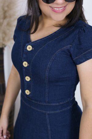Vestido Jeans Cinderela