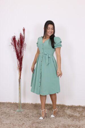 Vestido Godê Flora