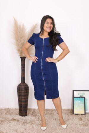 Vestido Jeans Midi Stella