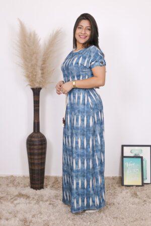 Vestido de Malha Longo Maya