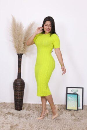 Vestido de Tricot Lavínia
