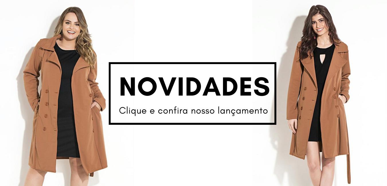 Banner Novidades   2 modelos em Áquila Tauheny Store   Moda Evangélica